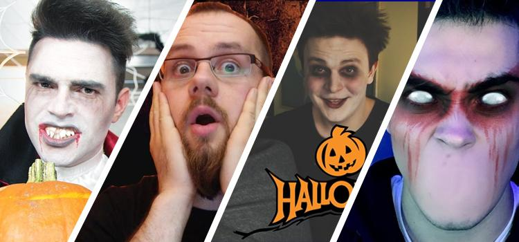 Halloween na YouTube!