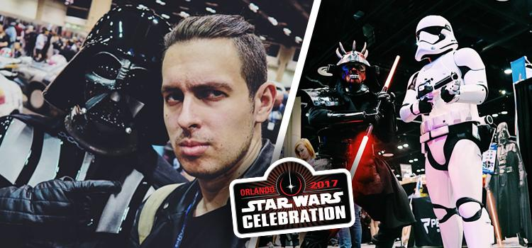 Artur z Topowej Dychy na Star Wars Celebration!