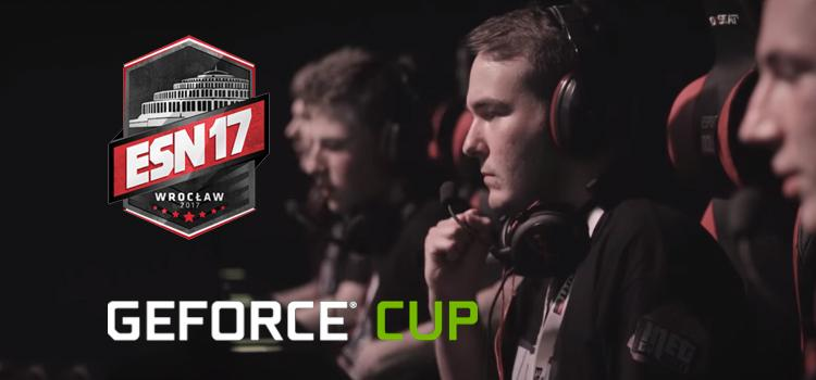 Finały GeForce Cup podczas ESPORT NOW 2017!