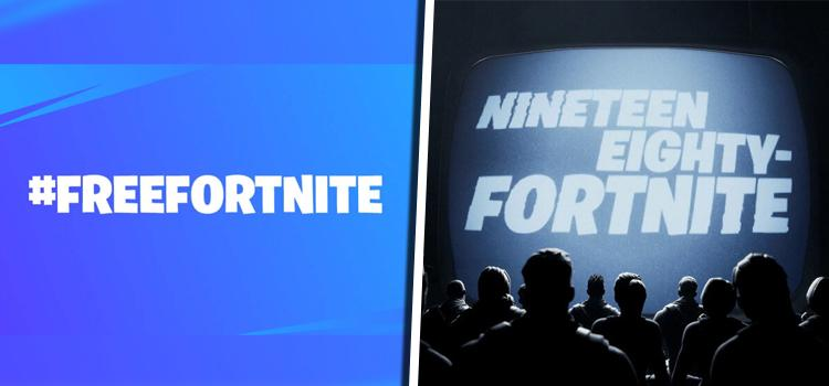 Fortnite idzie na wojnę z Apple i Google