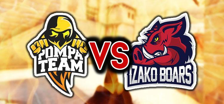 Pompa Team vs. Izako Boars! [STREAM]