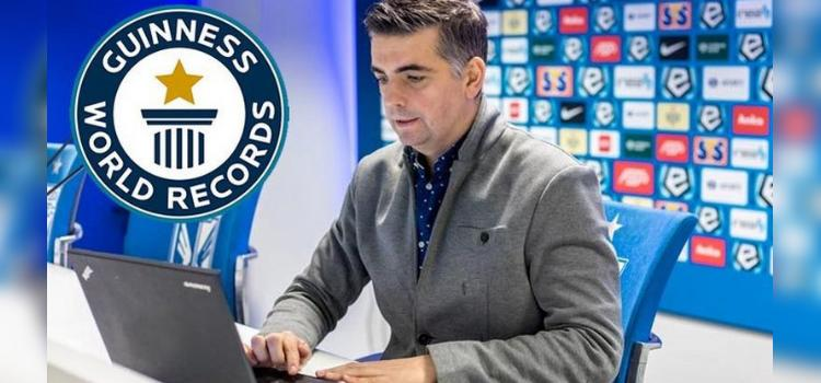 Polak ustanowił rekord Guinnessa w Football Manager